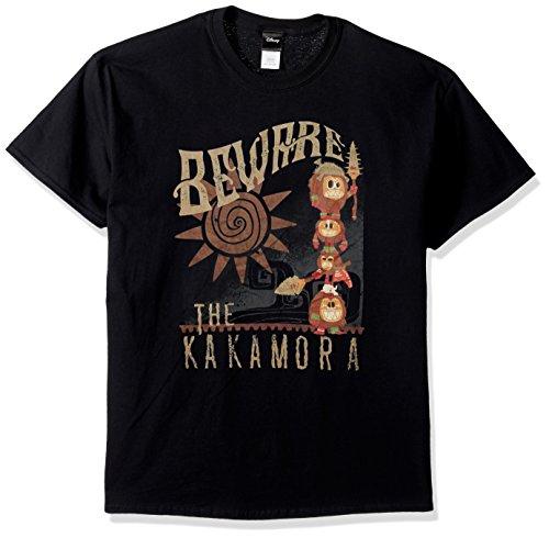 Disney Mens Moana Beware The Kakamora Graphic T-Shirt