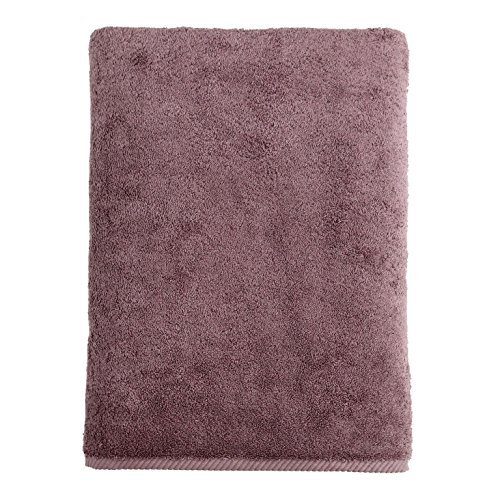 Linum Home Textiles Soft Twist Premium Authentic Soft 100% Turkish Cotton Luxury Hotel Collection Bath Sheet, Sugar - Plum Kitchen Sugar