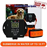 FunAce Invisible Wired Dog Fence Rechargeable and Waterproof Pet Containment System for 1 Dog