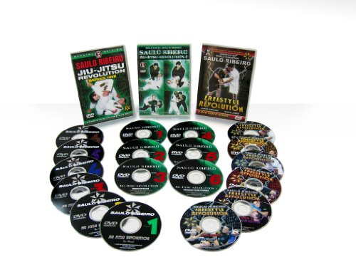 Saulo Ribeiro : Brazilian Jiu-Jitsu 3 DVD Set Combo!! by World Martial Arts