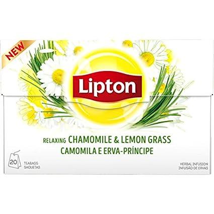 Lipton – Recambio (Infusión de hierbas) – 20 bolsas de té x ...
