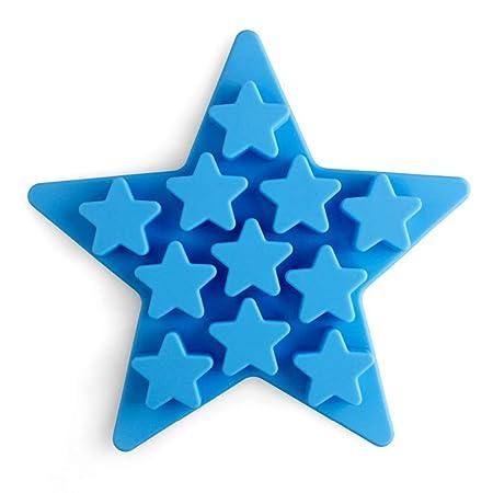 Compra UGUAX Pentagram Bandeja para Hielo, bandejas para Cubitos ...