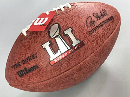 "Wilson ""The Duke"" NFL Super Bowl LI (51) Football New England Patriots vs Atlanta Falcons"
