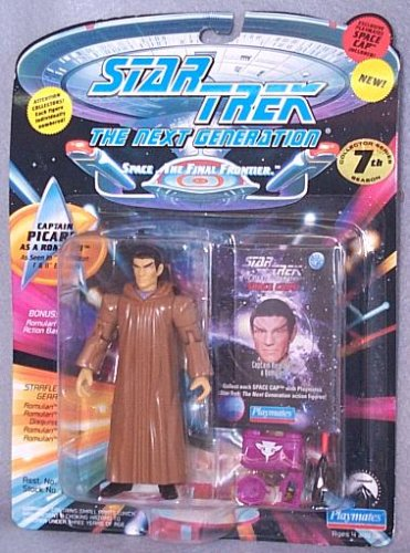 (Star Trek The Next Generation Captain Picard as a Romulan 4 inch Action Figure)