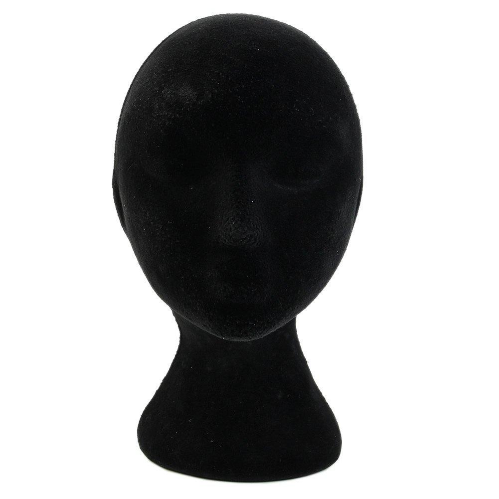 HeroNeo®–Manichino di polistirolo, mmodelo per parrucche e, Occhiali, in polistirene, a forma di testa di donna