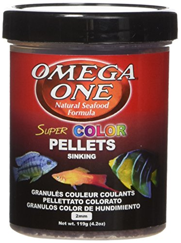 OMEGA 83381 1 One Super Color Pellet Sinking 4.2oz, Yellow