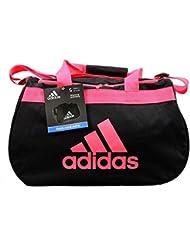 Adidas Diablo II Small Duffel Bag Black Infrared