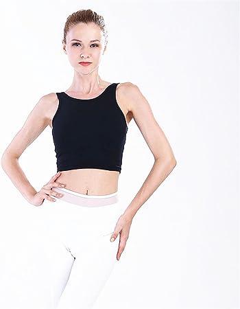 Sujetador de Yoga Sujetadores inconsútiles sin hilos inalámbricos de la yoga del algodón orgánico extra suave para las mujeres, sujetador diario acolchado inalámbrico cómodo Entrenamiento Físico: Amazon.es: Hogar