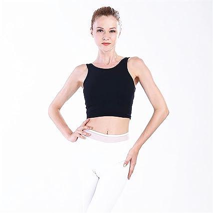 Mujer Bralette Top Yoga Bra Slim Body Slimming Sling Running para Mujeres Sujetadores Básicos Racerback Bra (Color : Blanco, tamaño : XL): Amazon.es: Hogar