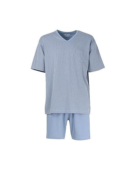 Ceceba Pijama - para Hombre Azul Blue Medium: Amazon.es: Ropa y accesorios