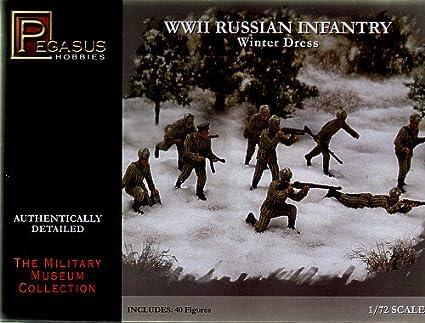 PEGASUS PEG7268 WWII RUSSIAN INFANTRY SUMMER DRESS 40 PC