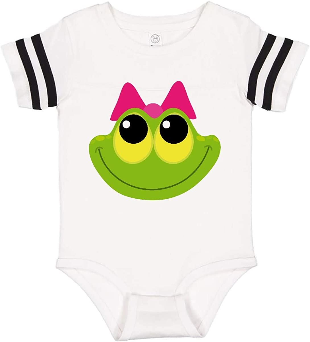 inktastic Frog Face Girl Infant Creeper