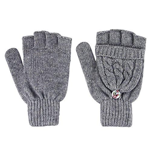 Womens Winter Gloves Fingerless Present