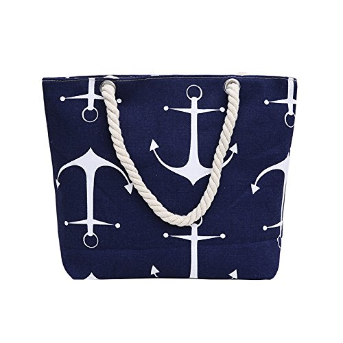 mujer de Samanthajane para Anchor playa Bolso ClothingTM Blue PxTnwTRXq