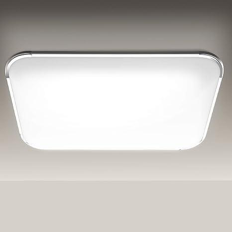 48W LED Deckenleuchte Deckenlampe Panel Lampe Badlampe Wohnzimmer Dimmbar IP44
