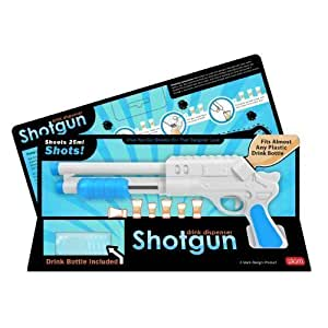 Luckies Of London SHOTG - Dispensador de líquidos para chupitos con forma de pistola, 25 ml