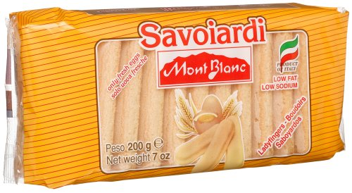 Price comparison product image Mont Blanc Saviolardi (Ladyfingers), 7-Ounce Packages (Pack of 12)