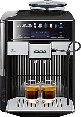 Siemens TE605209RW cafetera automatica, 1500 W, 1.7 litros, Acero ...