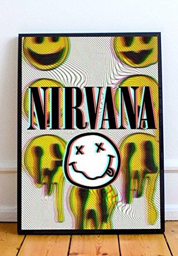 Amazon.com: Nirvana Limited Poster Artwork - Professional Wall Art ...