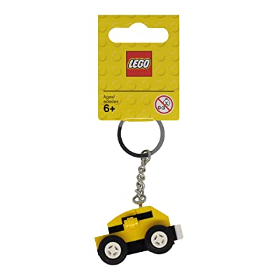 LEGO Key Chain Yellow Car 853573: Toys & Games