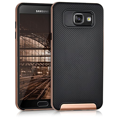Back Case for Samsung Galaxy A5 2016 (Rose Gold) - 1