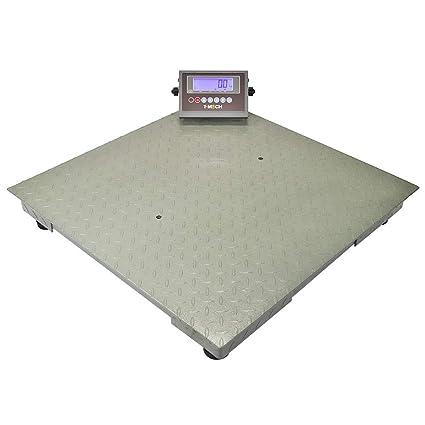 Escalas de pesaje industriales del piso de la plataforma de T-Mech los 80cm