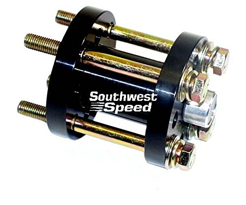 """NEW SOUTHWEST SPEED RACING 3"""" BILLET ALUMINUM FAN SPACER, 2 PATTERNS TO FIT ALMOST ALL CHEVY AND FORD WATER PUMPS"""