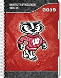 University of Wisconsin Badgers 17-Month 2019 Tabbed Planner