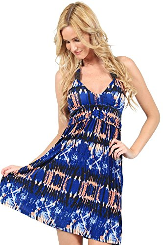 Ingear Studded Empire Halter Dress (Large, -