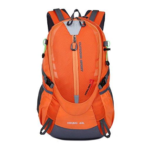 Rmine Erwachsene Ski Rucksäcke Multifonktion Sport Backpack 40L (Orange)