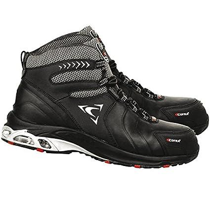 Cofra pj010 – 000.w45 tamaño 45 Zapatillas de seguridad S3 Phantom – Negro