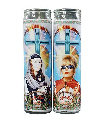 My Pen15 Club Edina and Patsy Celebrity Prayer Candle Set - Absolutely Fabulous