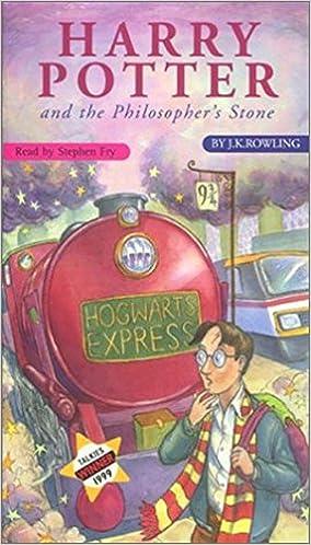 Harry Potter And The Philosopher S Stone 7 Audio Cd Set Amazon Co Uk J K Rowling Stephen Fry Books