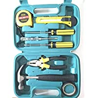CHHELL 9-Piece Home Tool Kits Multi-Functional Universal 9 in 1 Precision Screwdriver Hammer Set Repair Tool Kit for Household Electronics Test Repair Maintenance