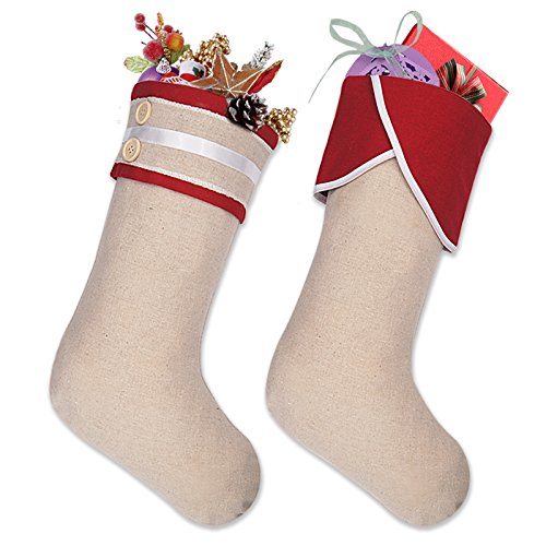 Cuff Christmas Stocking - Ivenf 18