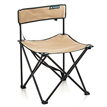 DECATHLON QUECHUA ARPENAZ silla plegable BEIGE: Amazon.es ...