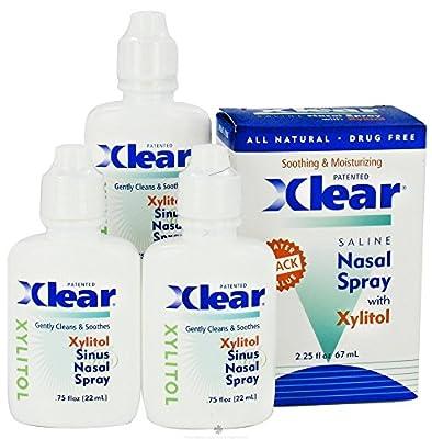 Xlear Xylitol 3-pack Nasal Wash .75 Oz