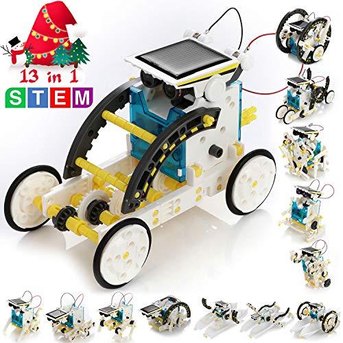 KIDWILL 13-in-1 Educational Solar Robot Kit for Kids, STEM Educational Science Toy - Science Kid Toys Educational