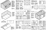8' x 12' Gable Storage Shed Project Plans -Design