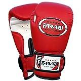 Kids boxing gloves, junior mitts, junior mma kickboxing Sparring gloves 4Oz red