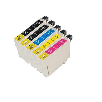 Walindamedia Media 5 recambios de cartuchos para Epson T0711 XL de ...