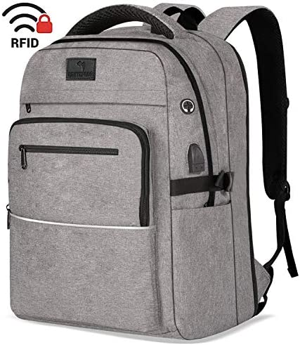Backpack WhiteFang Friendly Resistant Laptop Grey product image