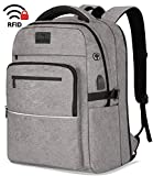 WhiteFang 17.3 Inch Laptop Backpack,TSA Friendly Business Travel Laptop Backpack with...