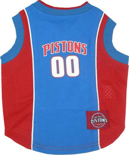 - NBA DETROIT PISTONS DOG Jersey, X-Small
