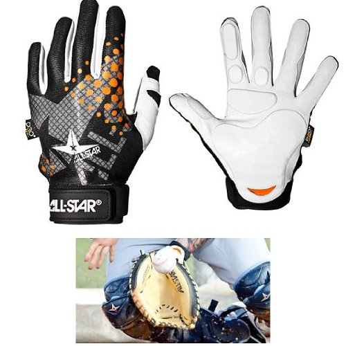 Adult Small Catcher's & Fielder's Padded Inner-Glove (Left (All Star Catchers Mitts)