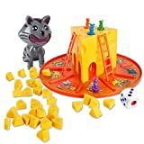 Parent-child Interactive Board Game Cat Mouse Cheese Cake Toys For Children
