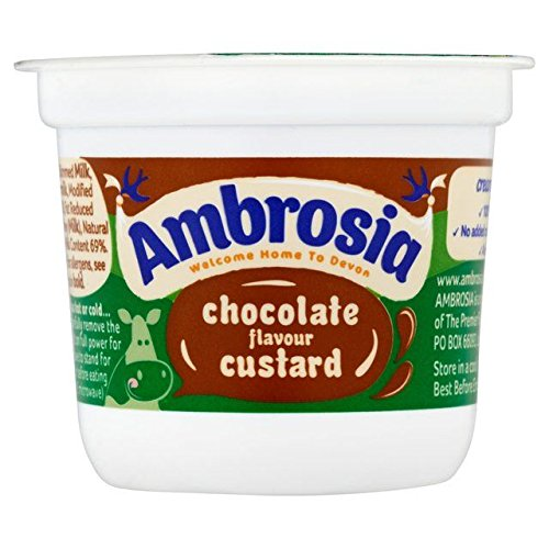 Ambrosia Chocolate Flavour Devon Custard - 120g (0.26lbs)