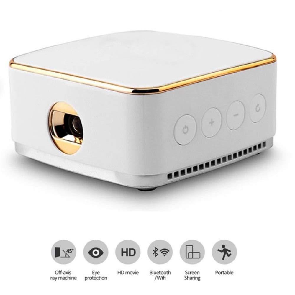 SongKai88 Proyector, proyector de Video HD Cine en casa LCD ...