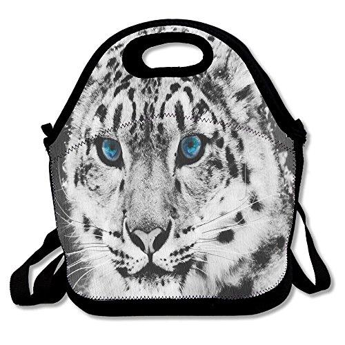 Blue Stripe Rambler Backpack (Tiger Blue Eye Multifunction Cooler Bag Lunch Picnic Tote Waterproof Bag For Women,Men, Adults, Kids Outdoor Travel)