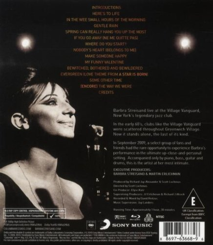 Amazon.com: One Night Only: Barbra Streisand and Quartet at ...